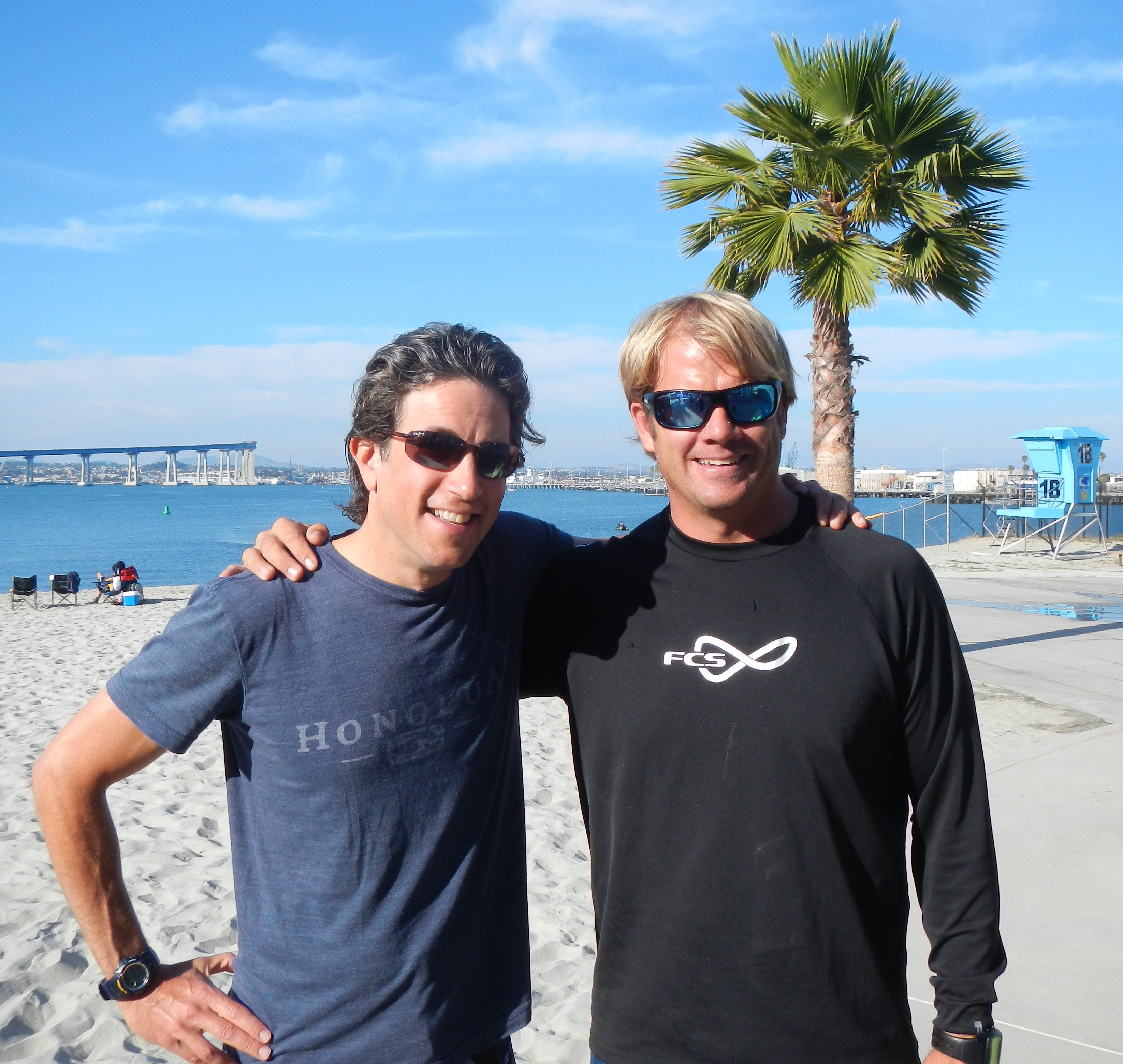 With Brody Welte of Paddlefit