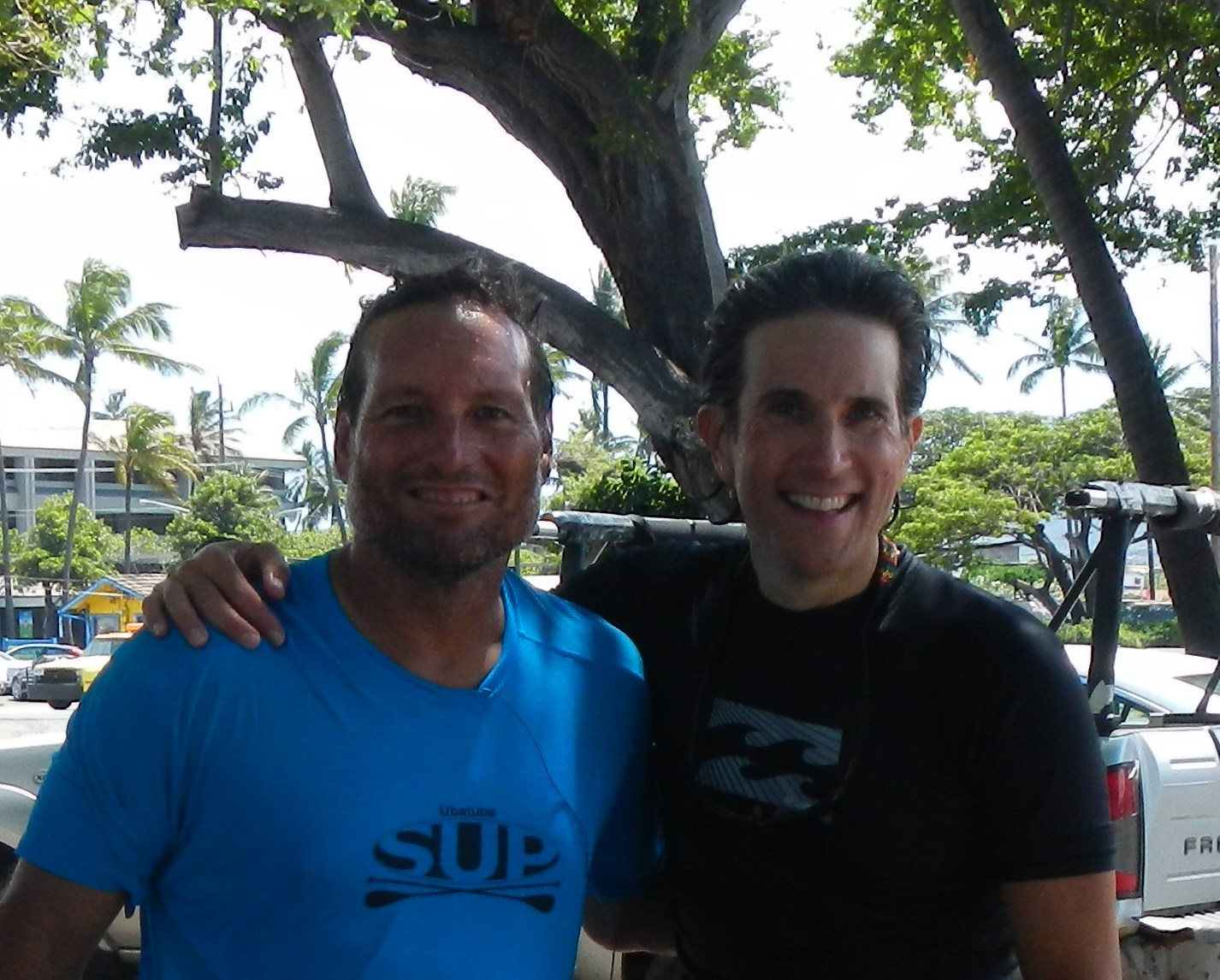 With Dave Kalama in Maui