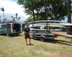 Ready for a Maliko run Maui