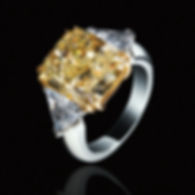 Diamond Tension Set Engagement Ring Kretchmer