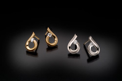Kretchmer moondrop raindrop earrings