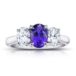 Purple Sapphire & Diamond