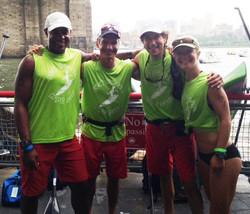 MKC Seapaddle race team at start