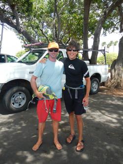 With Downwind legend Jeremy Riggs