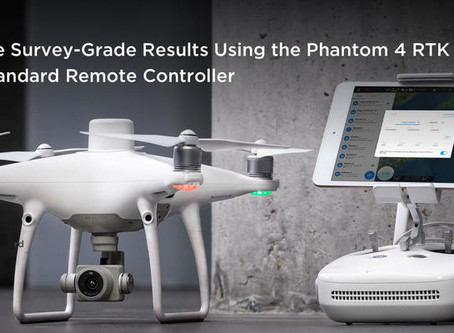 DJI presenta el nuevo control remoto SDK compatible con el Phantom 4 RTK
