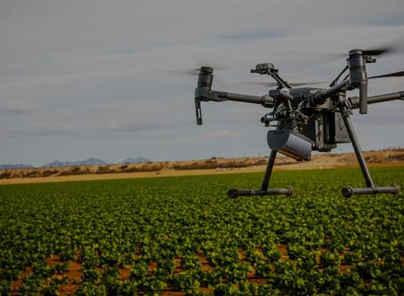 El uso de drones en agricultura