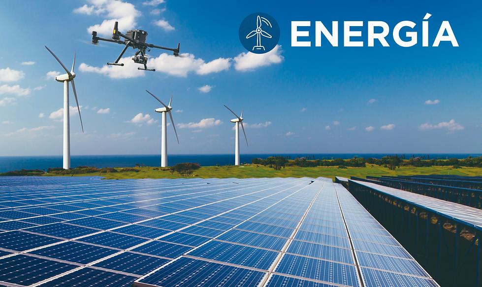 Drones para inspecciones Energias renovables