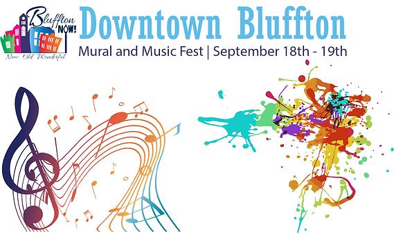 Downtown Bluffton Music an Mural Fest.pn