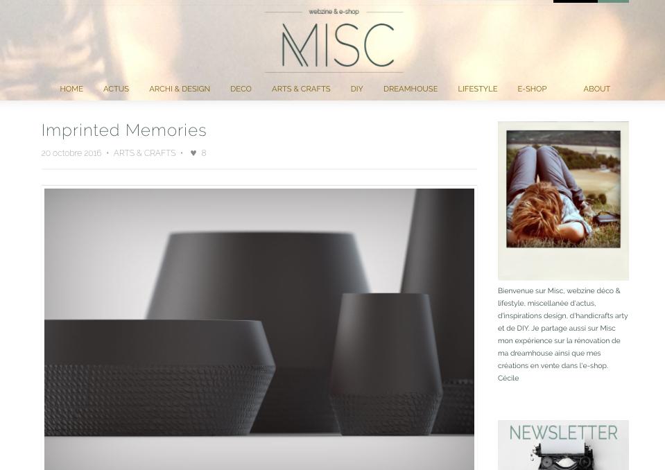 MISC- Imprinted Memories