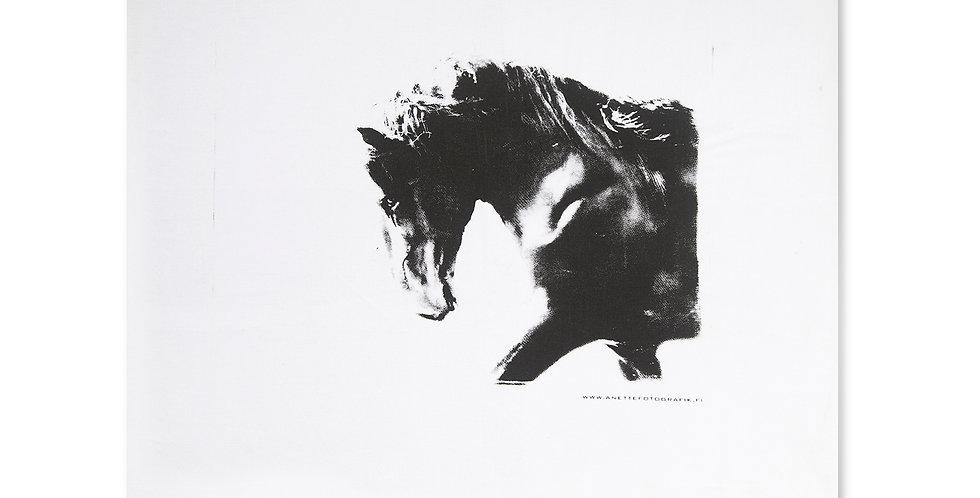 TYYNYLIINA MUSTA ORI - PILLOW CASE Black Stallion
