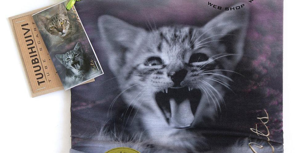 TUUBIHUIVI KISSAT - TUBE SCARF CATS