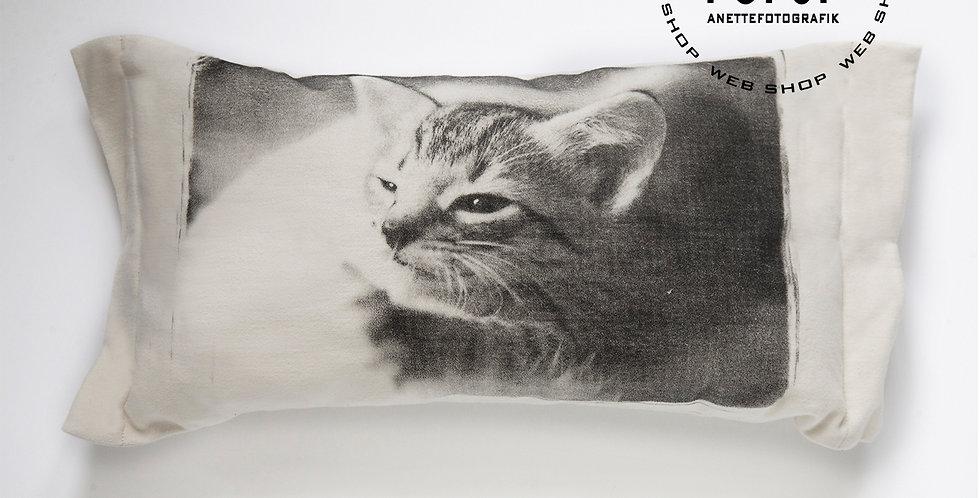 TYYNYNPÄÄLLINEN Kissa kehrää - CUSHION COVER Cat purring