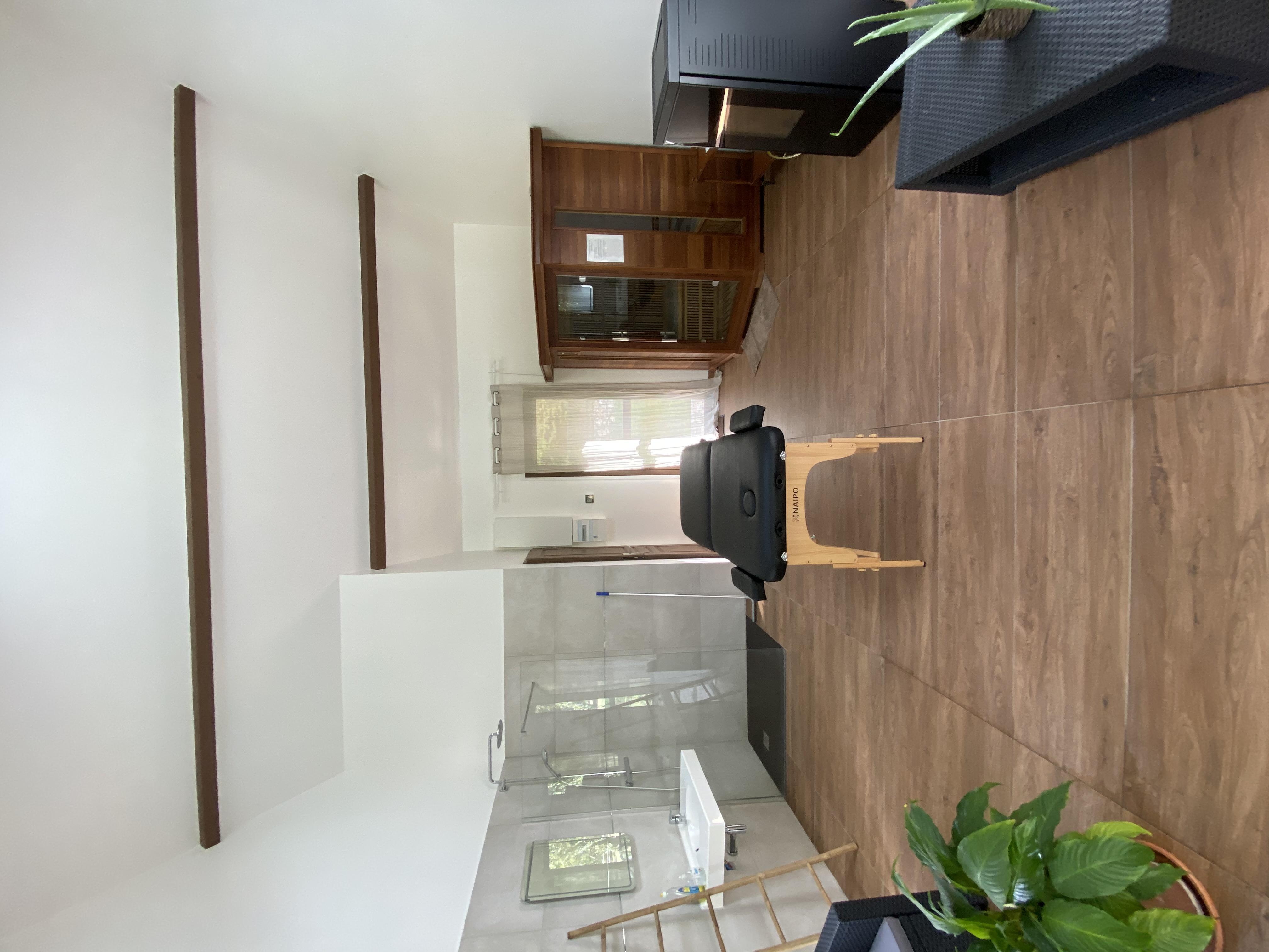 table de massage et sauna