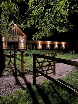 Maison du vannage de nuit