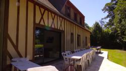 La terrasse Grande Maison