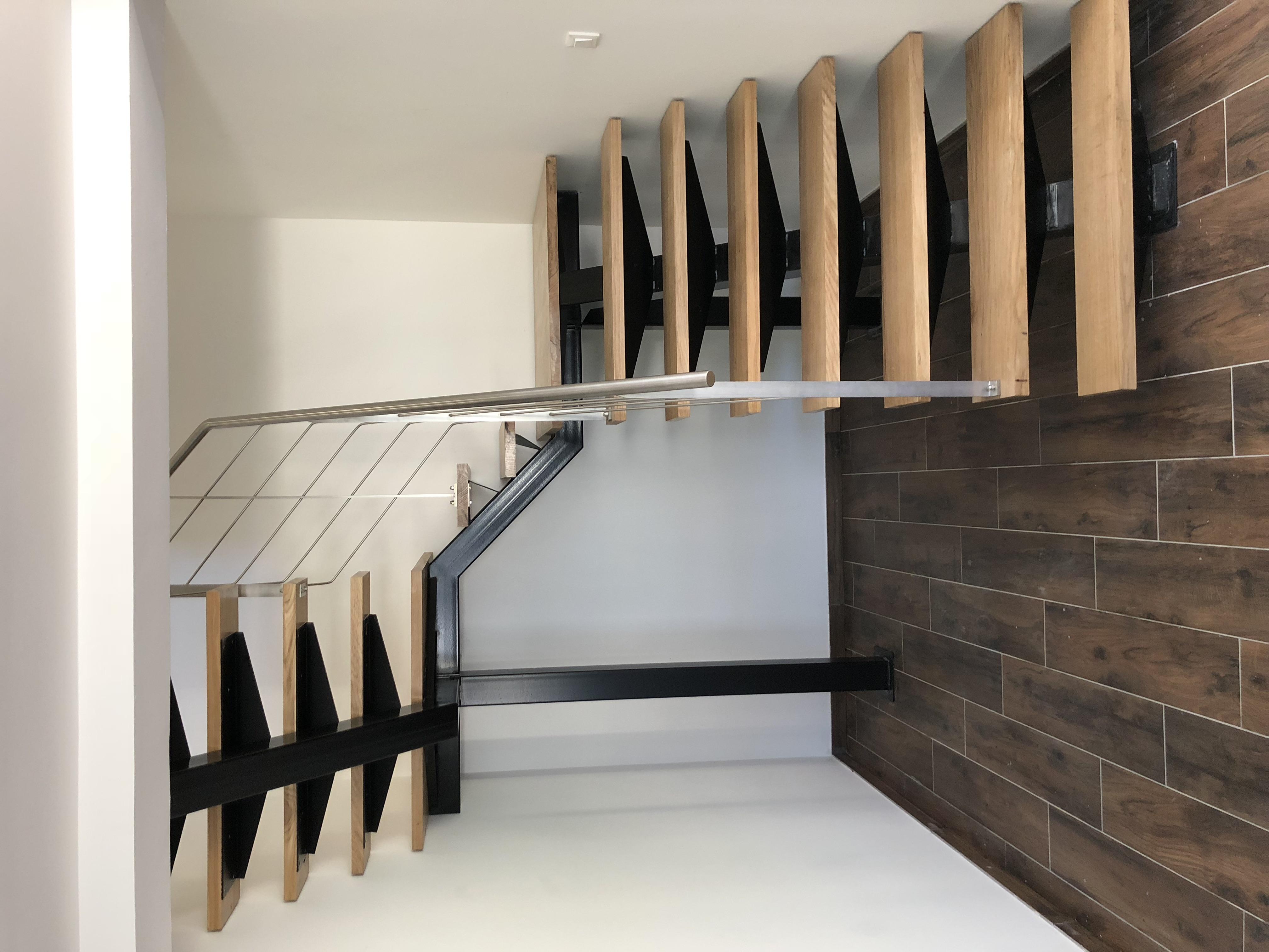 Escalier salon/mezzanine
