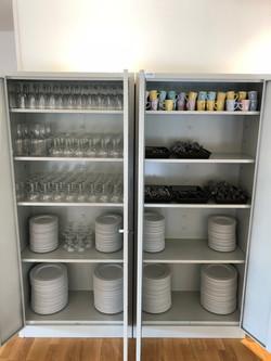 Vaisselle grande salle x100