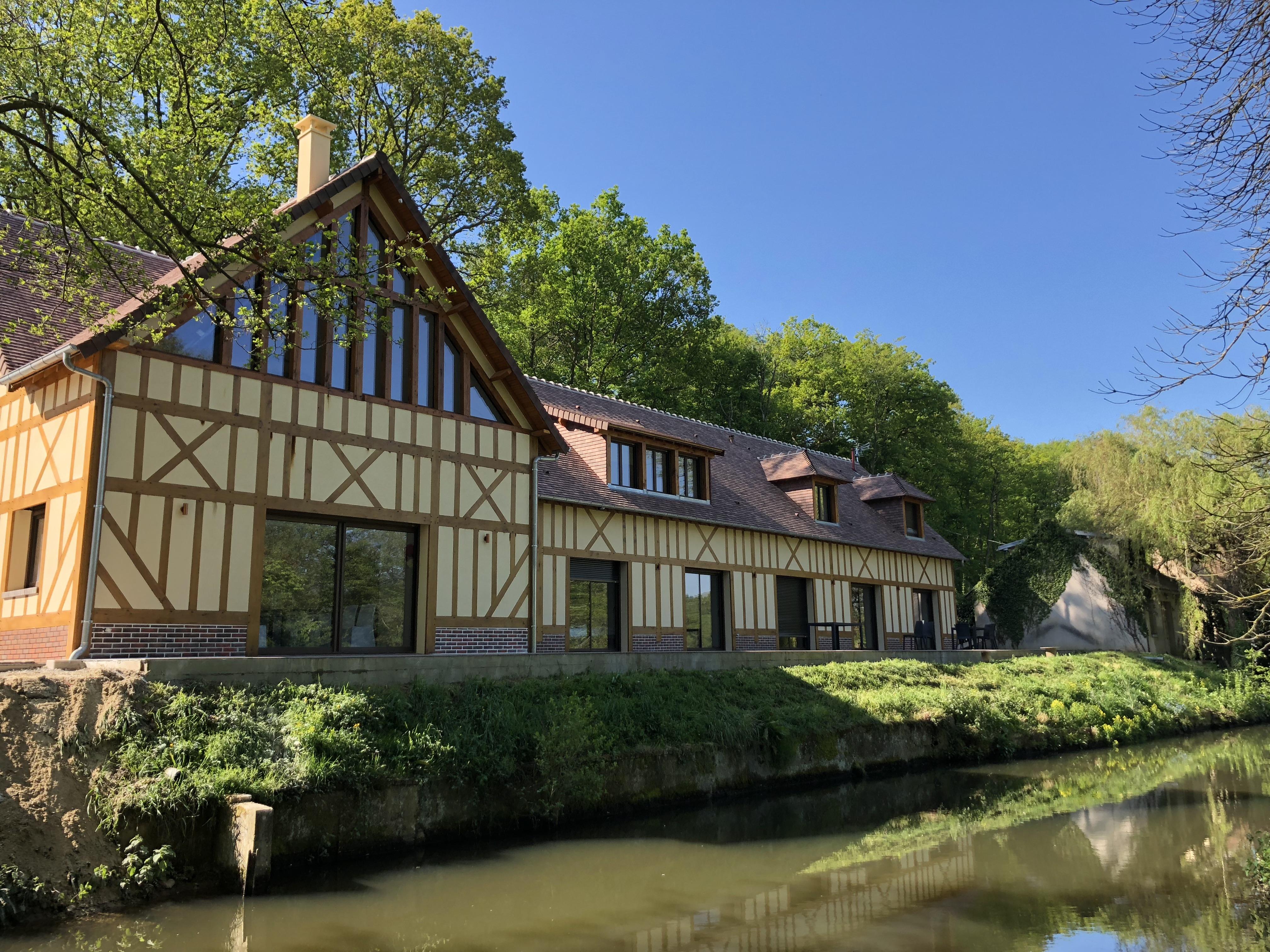 Facade terrasse/rivière