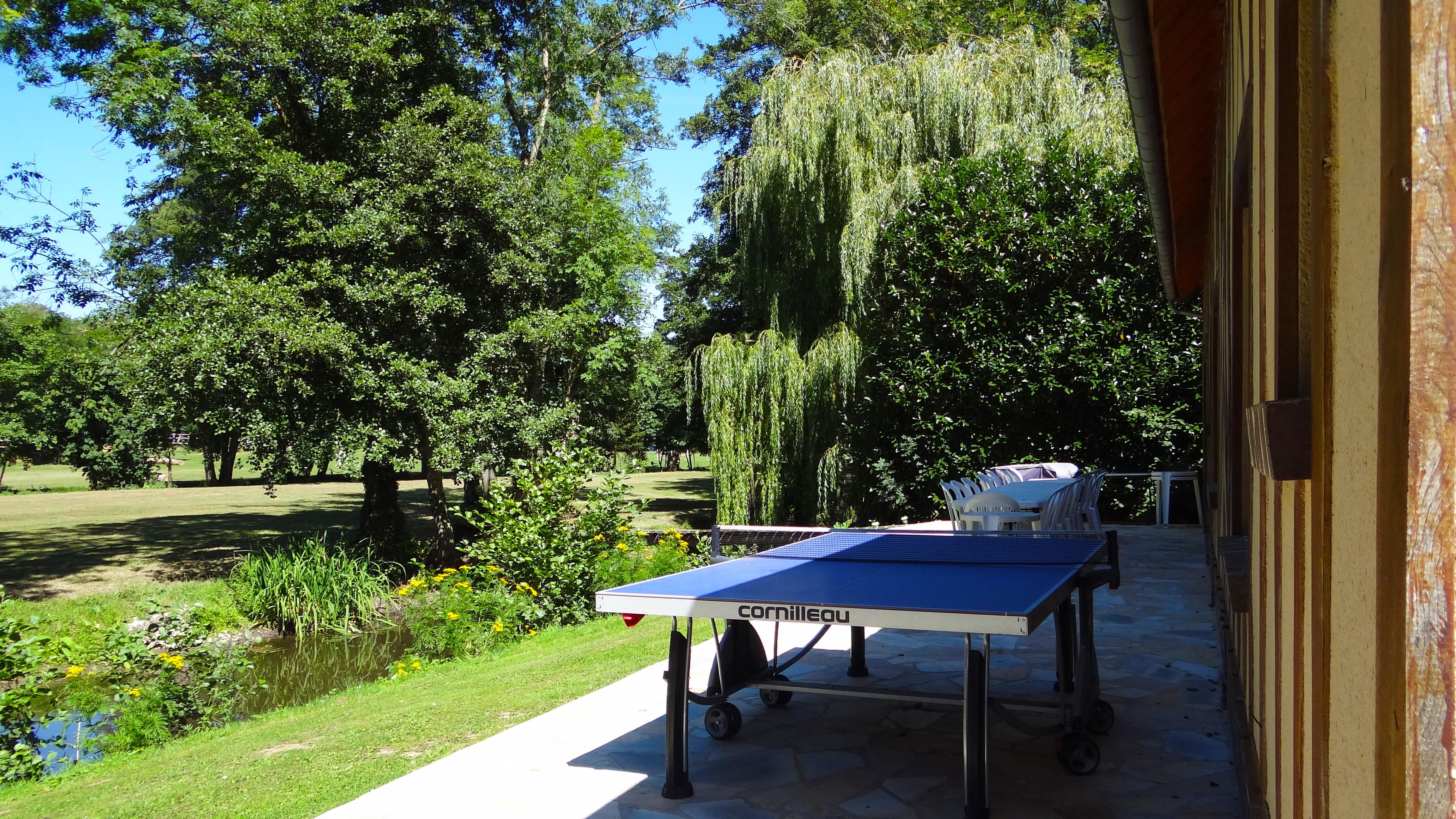 Ping-pong de la Grande Maison