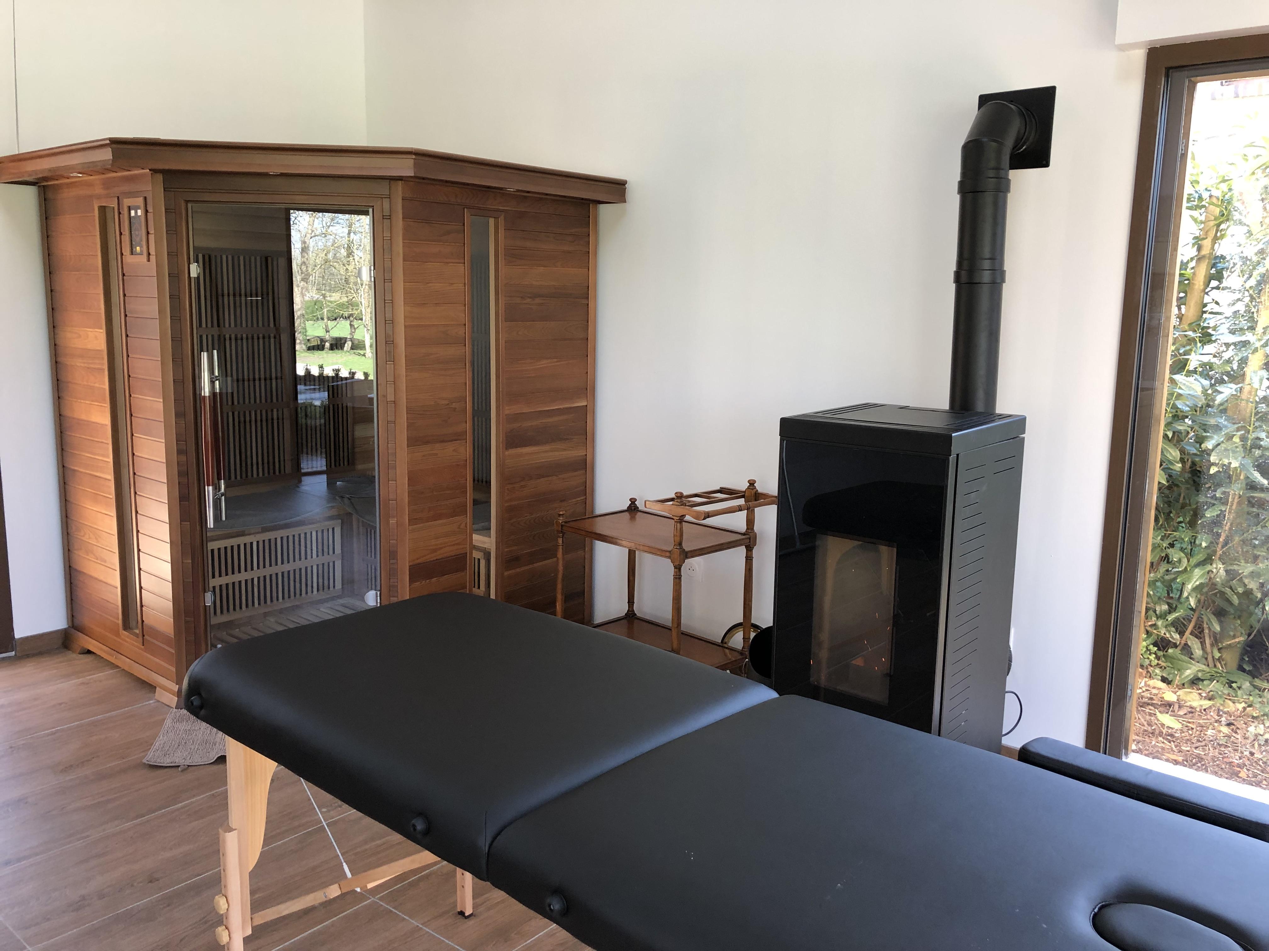 Sauna 3/4 places