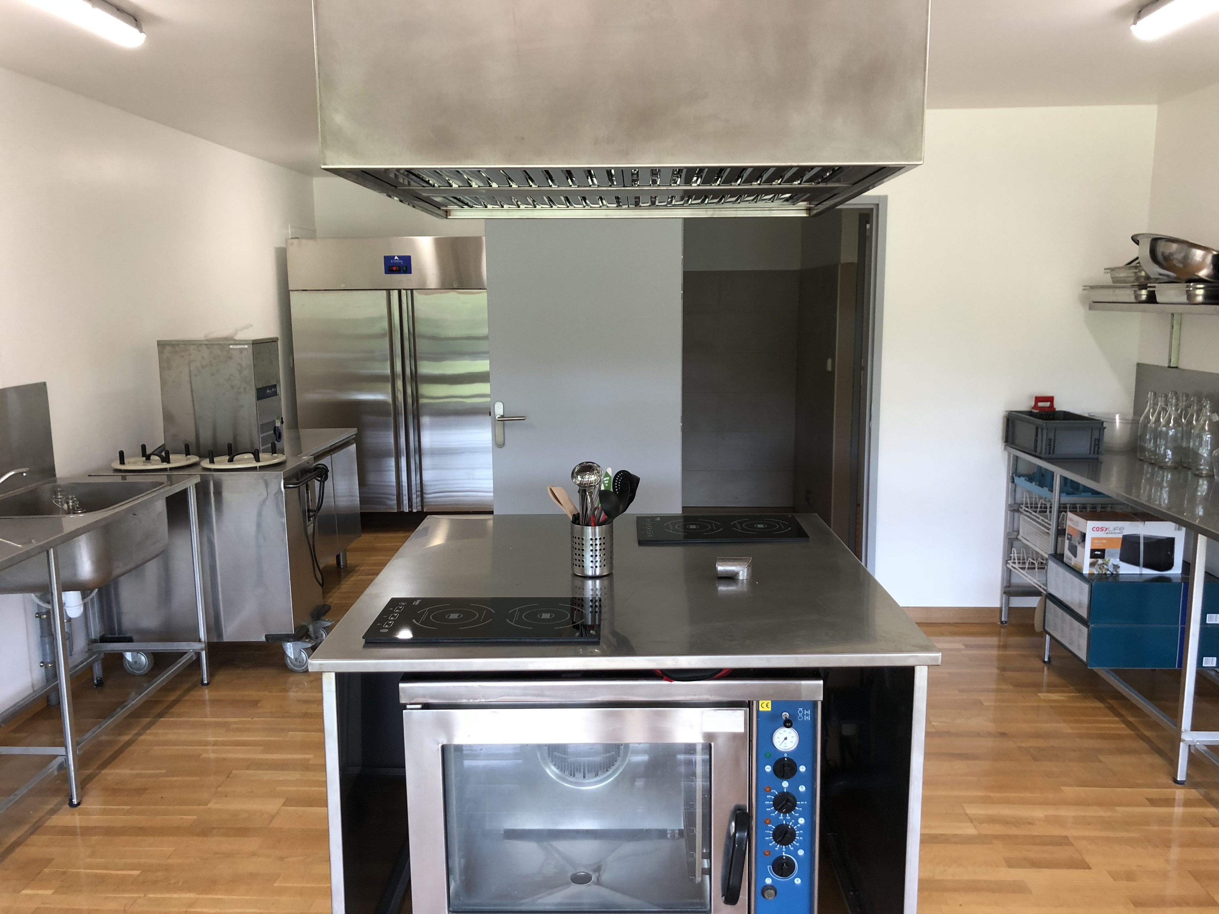 Cuisine pro grande salle