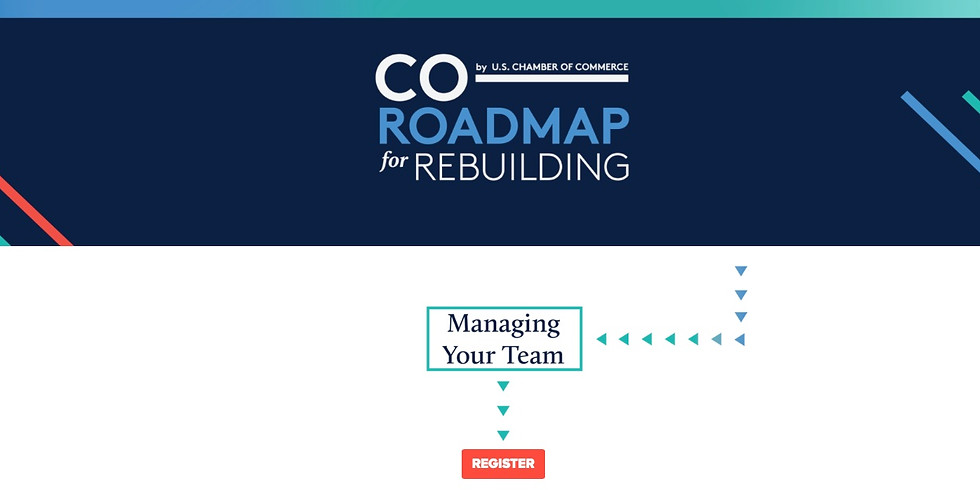 US Chamber / Co: Managing Your Team Main Event