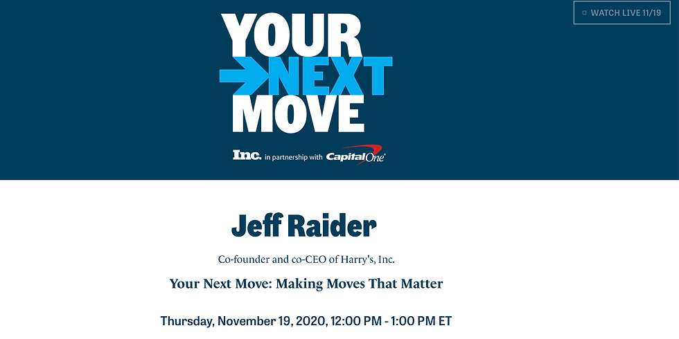 Your Next Move: Making Moves That Matter