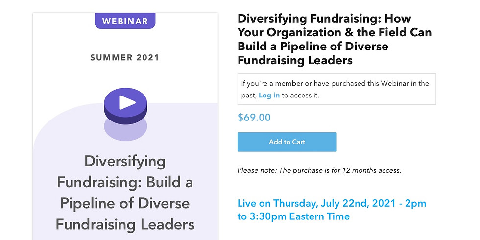 NPQ: Diversifying Fundraising - How Your Organization & the Field Can Build a Pipeline of Diverse Fundraising