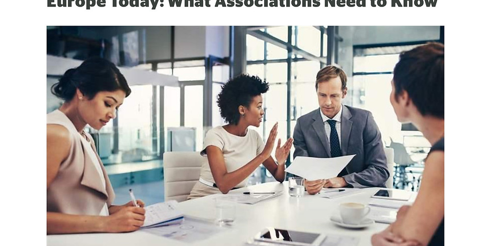 ASAE / Europe Today: What Associations Need to Know