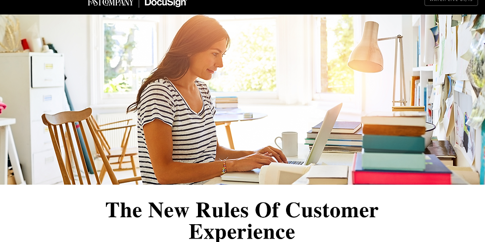 The New Rules Of Customer Experience - What Small Business Owners Need to Know