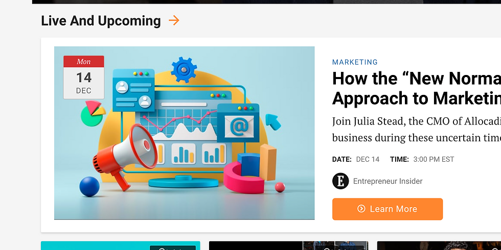 """How the """"New Normal"""" Has Changed Our Approach to Marketing"""