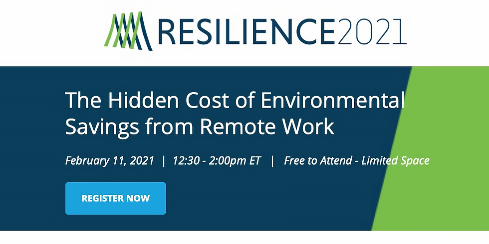 The Hidden Cost of Environmental Savings from Remote Work