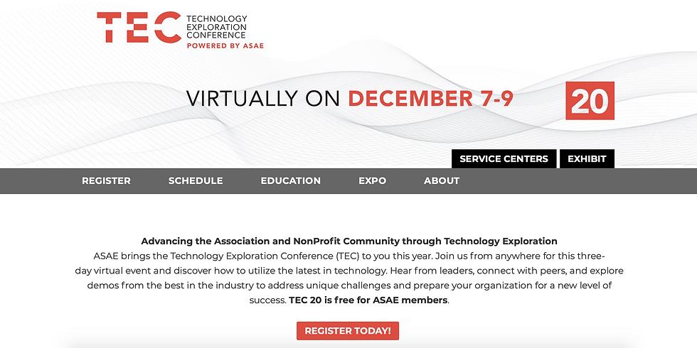 Technology Exploration Conference (TEC)