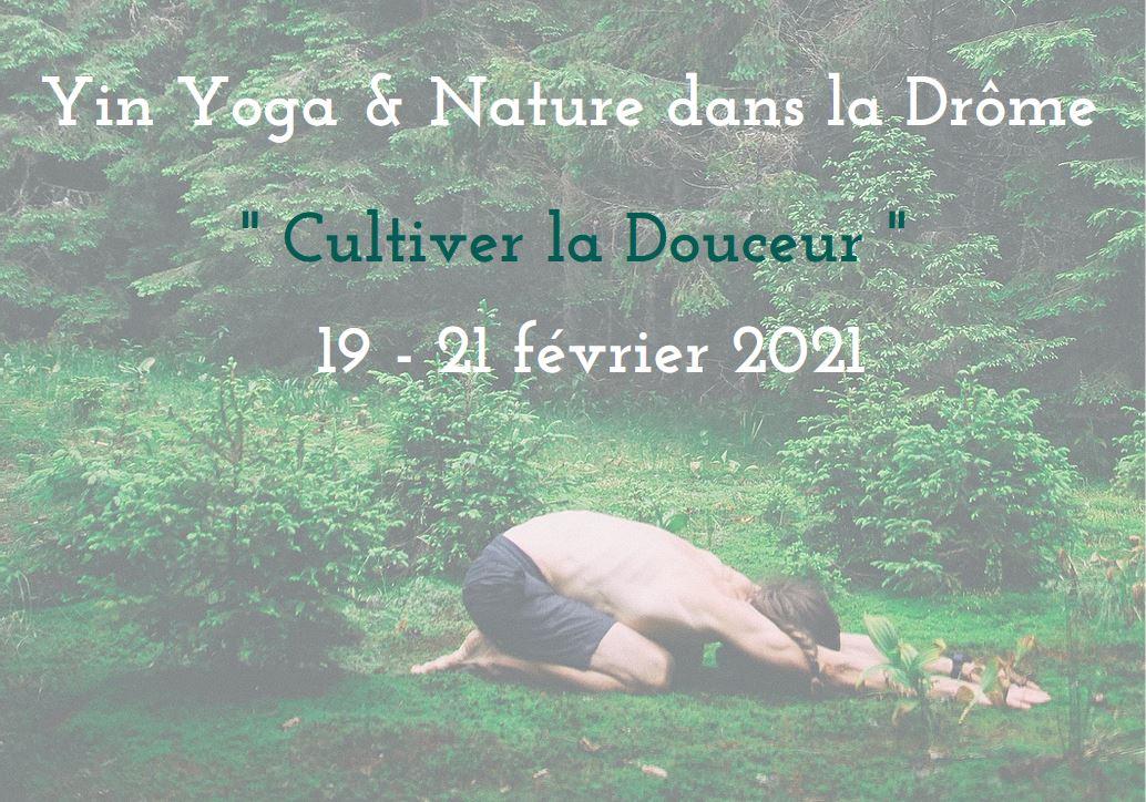 Yin Yoga & Nature dans la Drôme