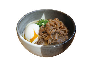 桃山亭|温玉肉ぶっかけ