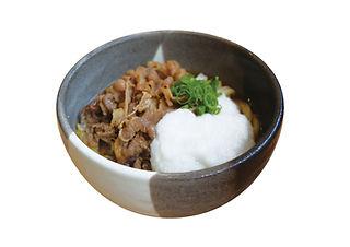 桃山亭|山かけ肉ぶっかけ