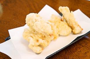 麦のへそ 天ぷら