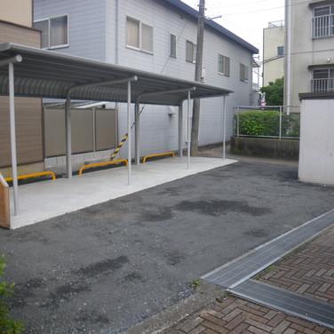 駐輪場設置工事