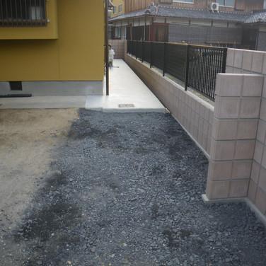 ブロック・フェンス工事