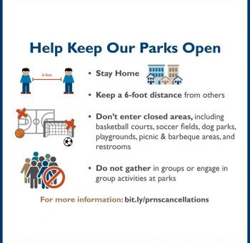 Help Keep Our Parks Open!