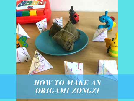 How To Make An Origami Zongzi For Dragon Boat Festival