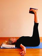 Viparita Karani Iyengar jóga