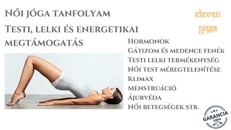 Női jóga tanfolyam