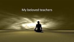 My beloved teachers!