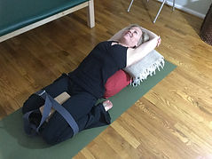 Női jóga az egészséges csípőért