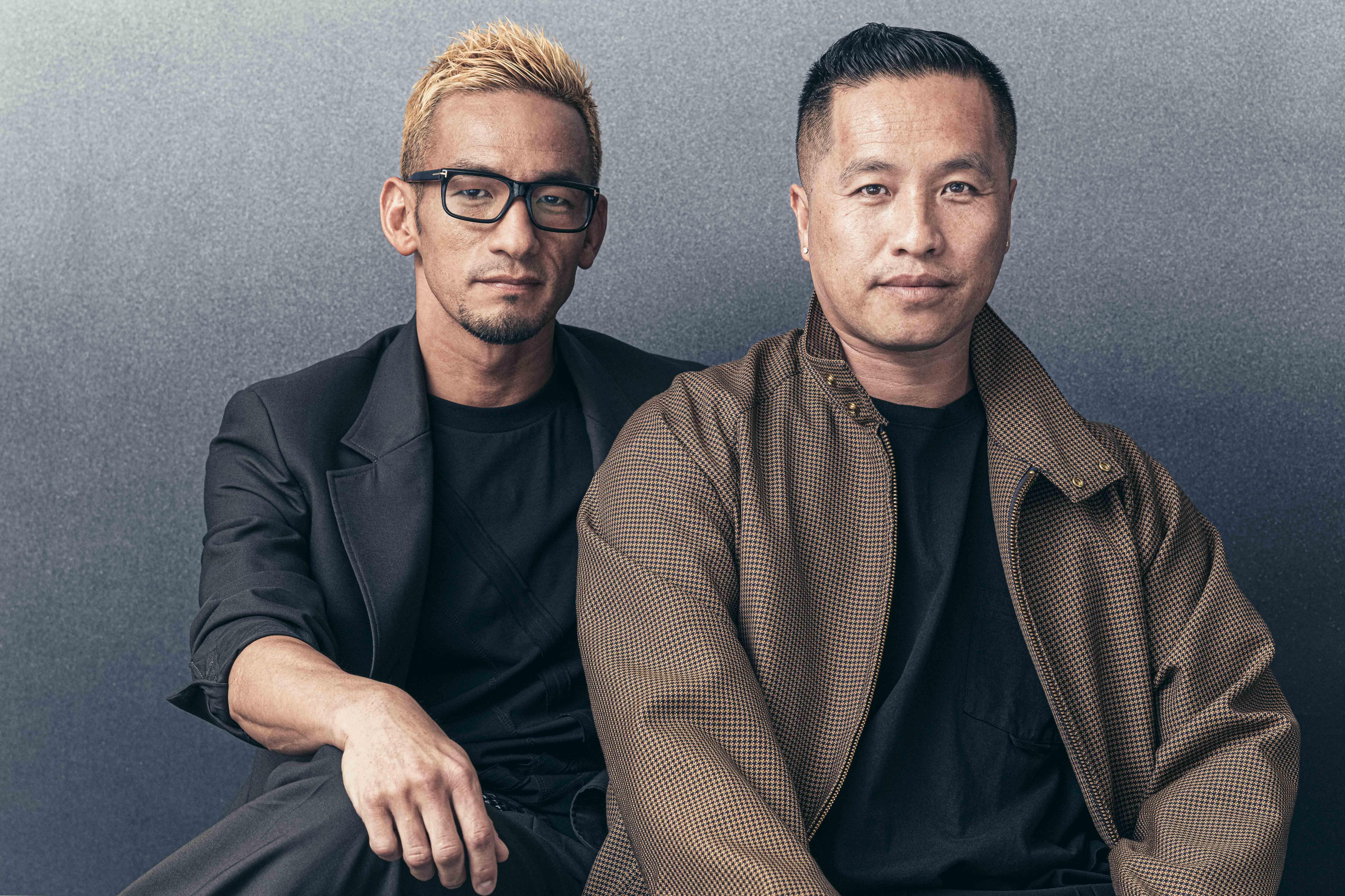 中田英寿 / フィリップ・リム(Forbes Japan)