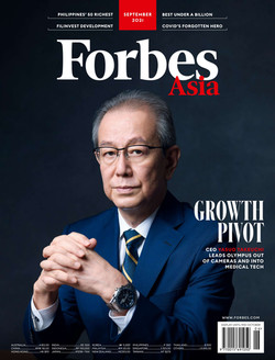 Forbes Asia Cover (2021/09)
