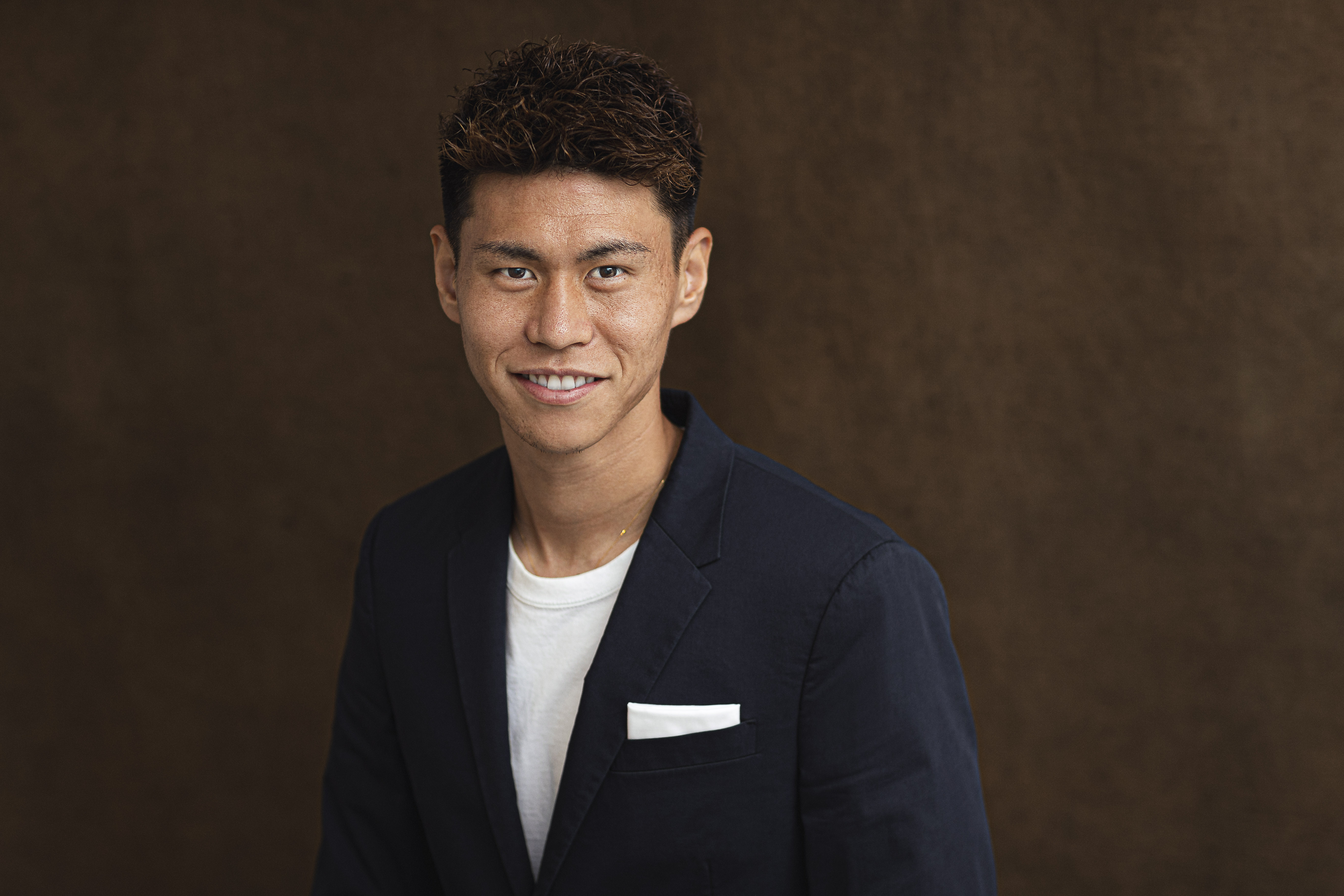 橋本拳人 / サッカー日本代表(Forbes Japan)