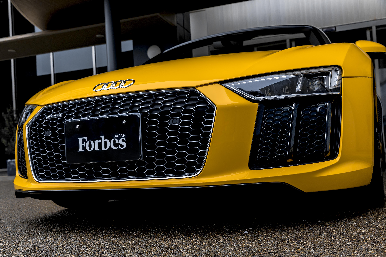 Audi R8 ( Forbes Japanタイアップ)