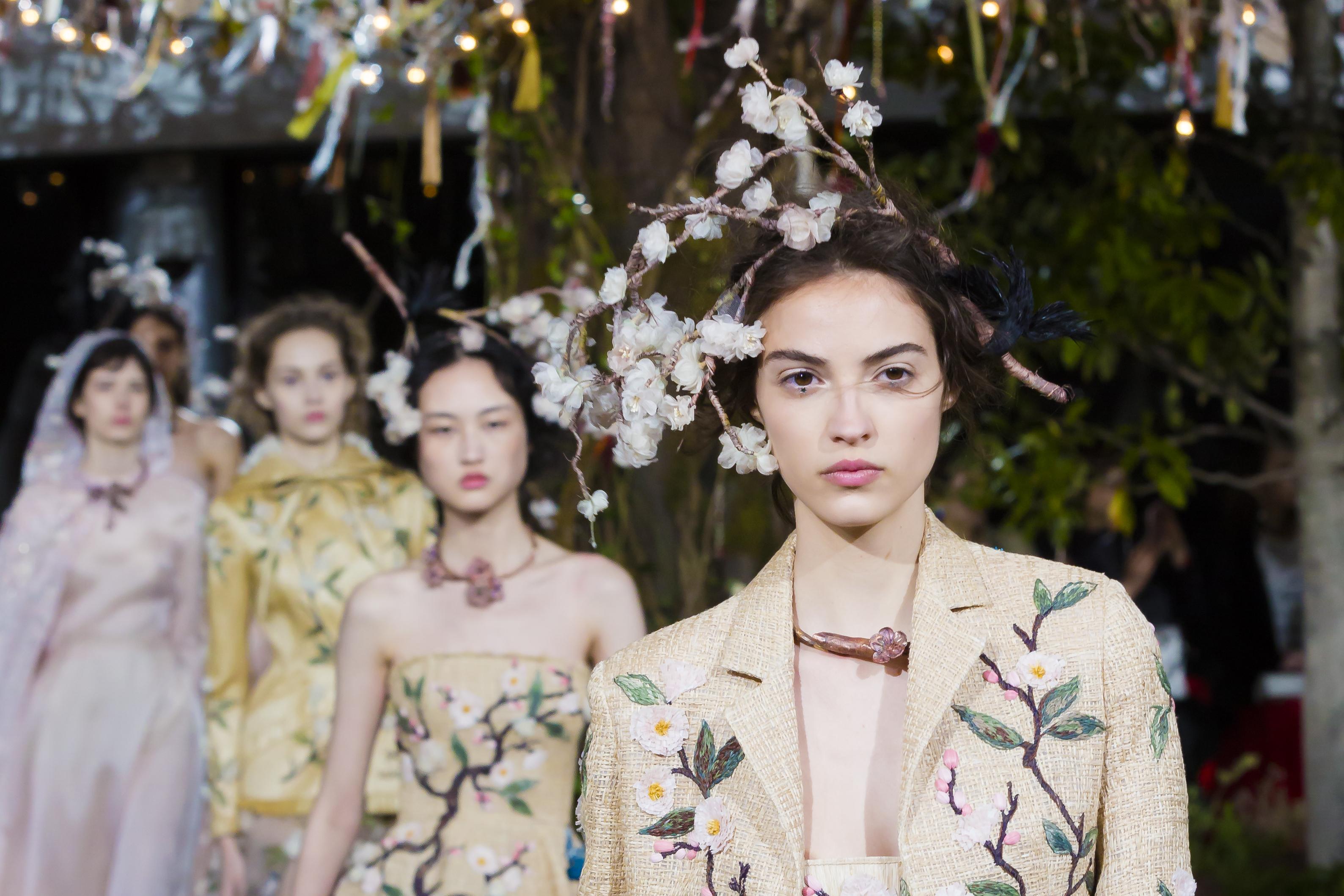 Dior Haute couture _2017(WWD japan)